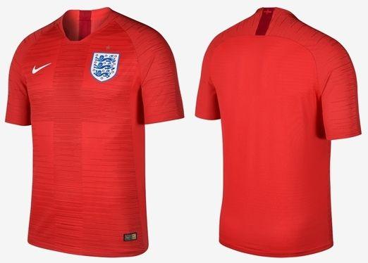 Jersey Timnas Inggris Away Merah Piala Dunia 2018 Grade Ori Piala Dunia Inggris Dunia