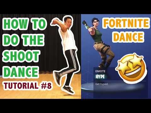 How To Do The Hype Dance Fortnite Aka Shoot Dance Simple Dance