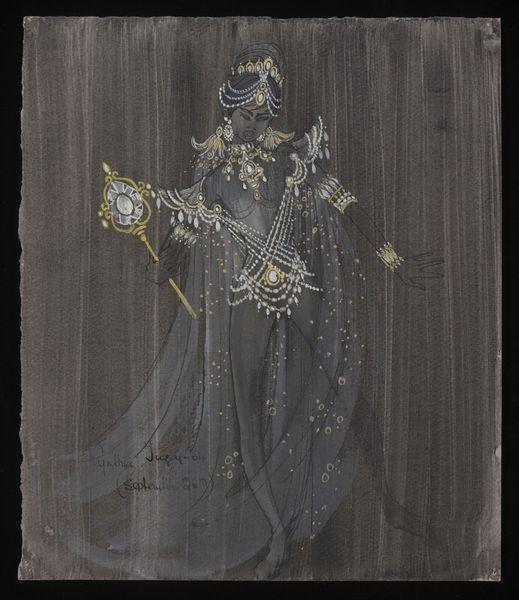Aladdin and His Wonderful Lamp (Pantomime). London Palladium. Costume design by…