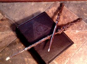 The Last Cordwainer: How to DIY Harry Potter Wands and Spell Book