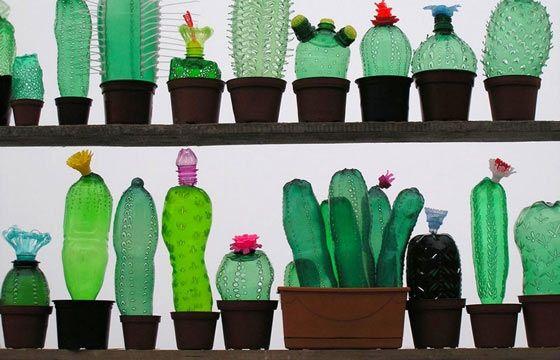 Juxtapoz Magazine - Veronika Richterova's Repurposed Plastic Bottle Sculptures