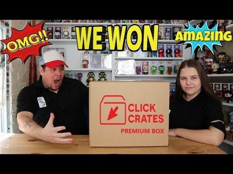 Omg We Won Unboxing Click Crates Premium Box October 2019