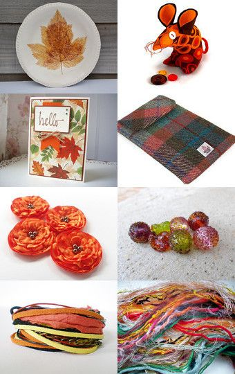 Hello Autumn by Clare Lewis on Etsy--Pinned with TreasuryPin.com