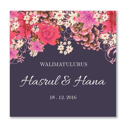 Kad-Kahwin-Floral-44 | Kad kahwin murah | kad kahwin cantik | pakej kad kahwin | kad kahwin pink | kad kahwin bunga | wedding card | Jemputan Kahwin