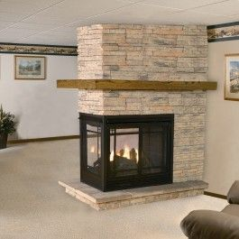 See Thru Multi Sided Fireplaces Fireplaces Pinterest Propane Fireplace Fireplaces And