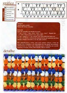 SANDRA PONTOS DE CROCHÊ E TRICÔ...........: Ponto de Crochet