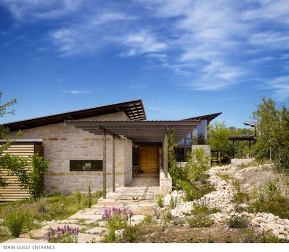 Leed Platinum Texas Home Lake Flato Architects Net Zero