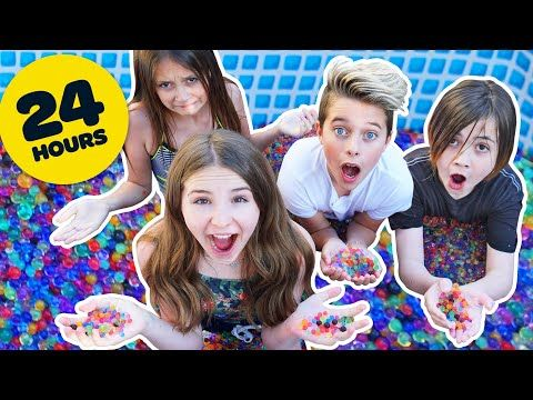 I Put 2 Million Orbeez In A Pool 24 Hour Mr Beast Challenge Piper Rockelle Youtube In 2021 Challenges Piper Youtube Channel Ideas