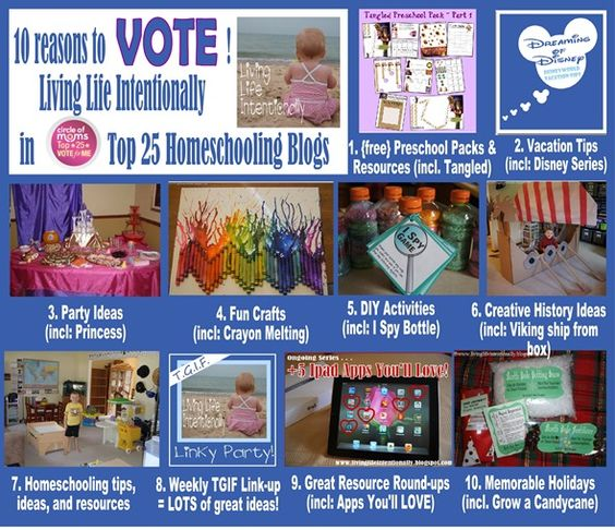 10 reasons to LOVE Living Life Intentionally and to VOTE 6/26 & 6/27/12! THANK YOU!