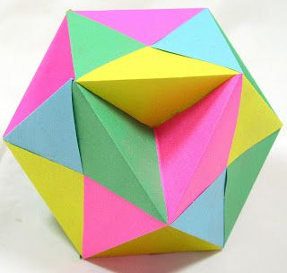 WHAT'S MINE IS OUR: Origami - Ball Butterflies - Butterfly Ball - Kenneth Kawamura