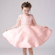 Картинки по запросу pink flower girl dresses