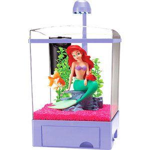 Disney princess ariel little mermaids and ariel the for Mermaid fish tank