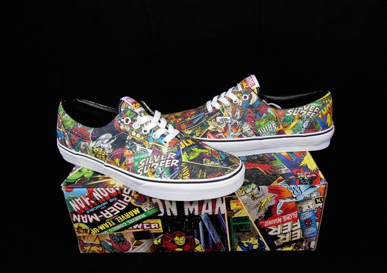 Vans Avengers Marvel Comics Kicks / Sneakers