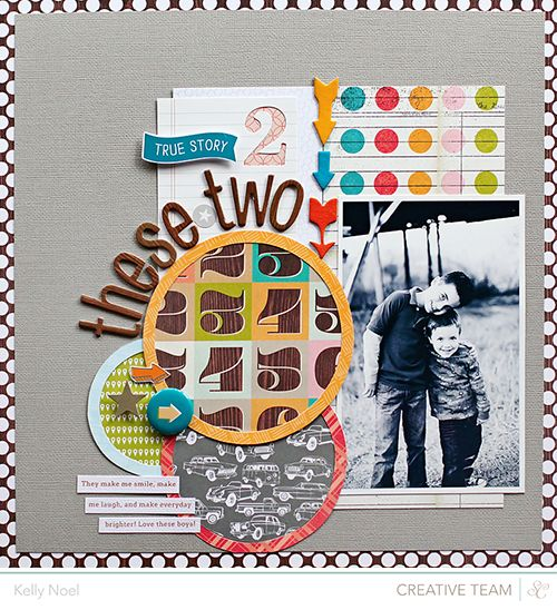 #papercraft #scrapbook #layout    Thesetwo_here_blog