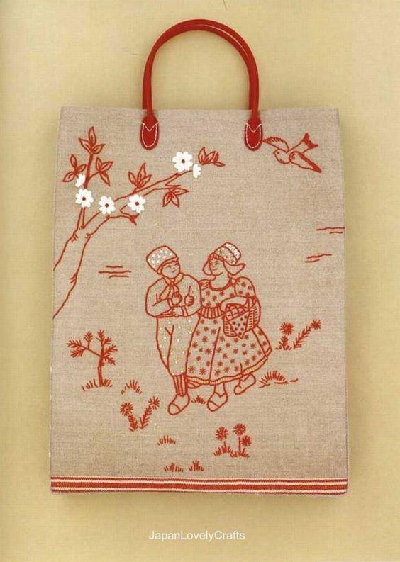 Embroidery Pattern Book Japanese Craft Book by JapanLovelyCrafts