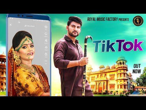 Ajay Hooda Tik Tok Haryanvi Official Song Ruchika Jangid Ritu Sharma Haryanvi Dj Songs Youtube Dj Songs Royal Music Movie Songs