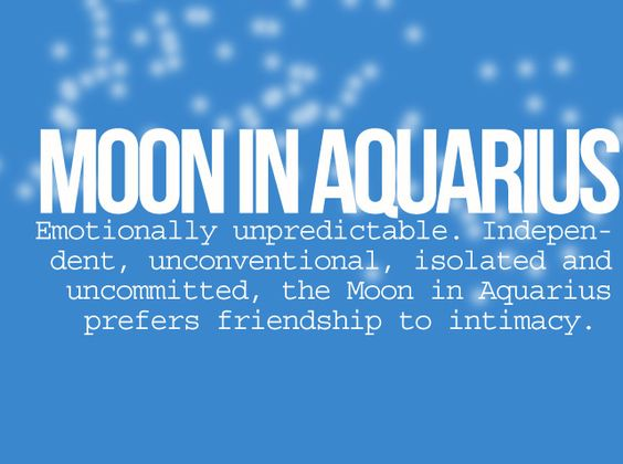 MOON IN AQUARIUS  #Zodiac #Astrology For related posts, please check out my FB page:  https://www.facebook.com/TheZodiacZone