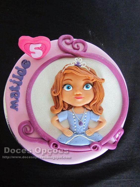 Doces Opções: A princesa Sofia no aniversário da Matilde