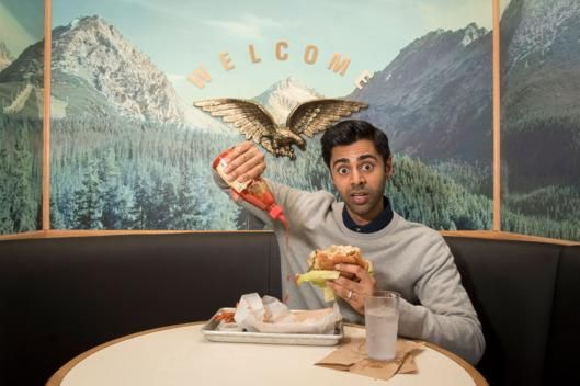 The Daily Show's Hasan Minhaj Drinks His Coffee 'Construction-Worker-Style'