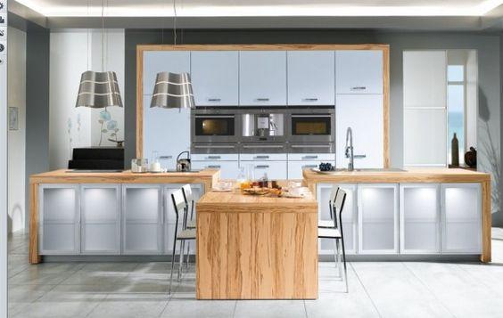 Découvrez des modèles de cuisine moderne et française pour votre ...