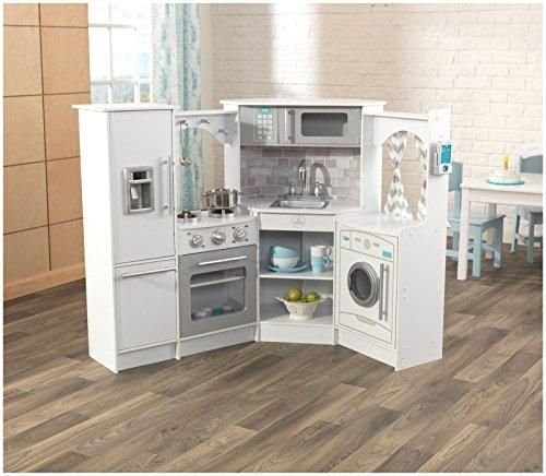 Kidkraft Ultimate Corner Play Kitchen Set White Exclusive