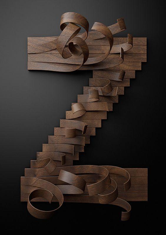 Wooden Alphabet found on Lushlee