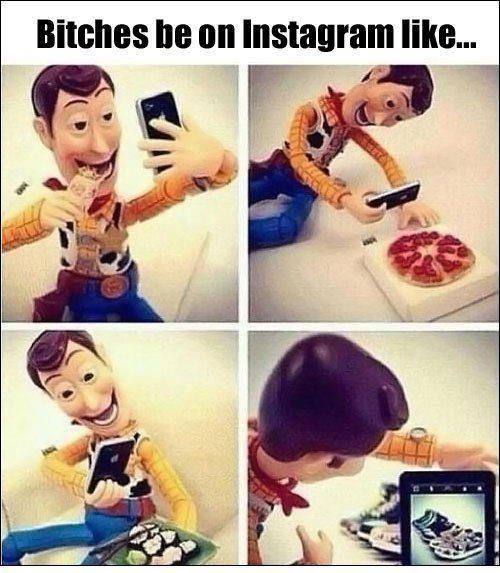 instagram as told by woody