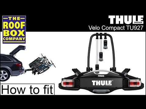 Thule Velocompact Tow Bar Bike Carrier Tu927 How To Fit
