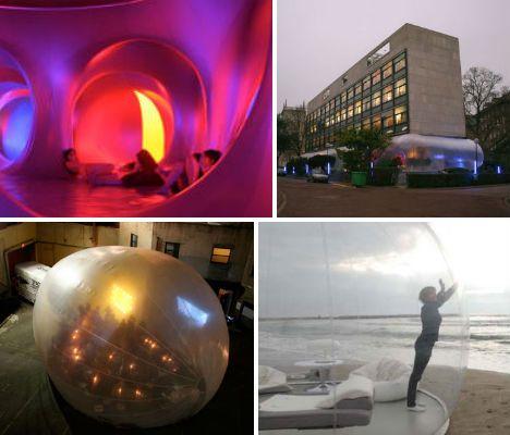 Arquitetura inflável.