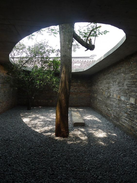 Twin Trees Pavilion by Atelier Archmixing