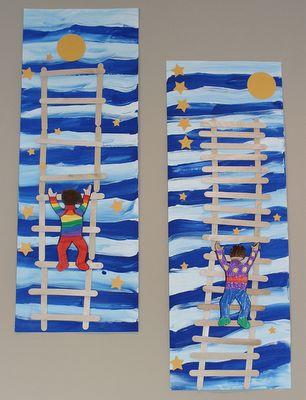 Eric Carle inspired art!