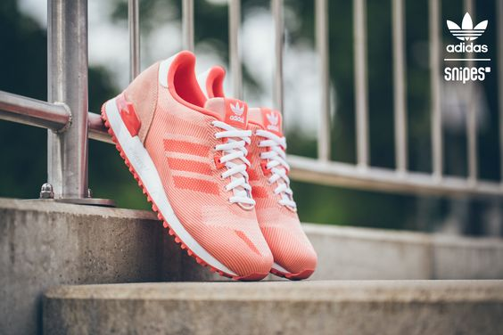 adidas schuh zx 700 weave bright coral