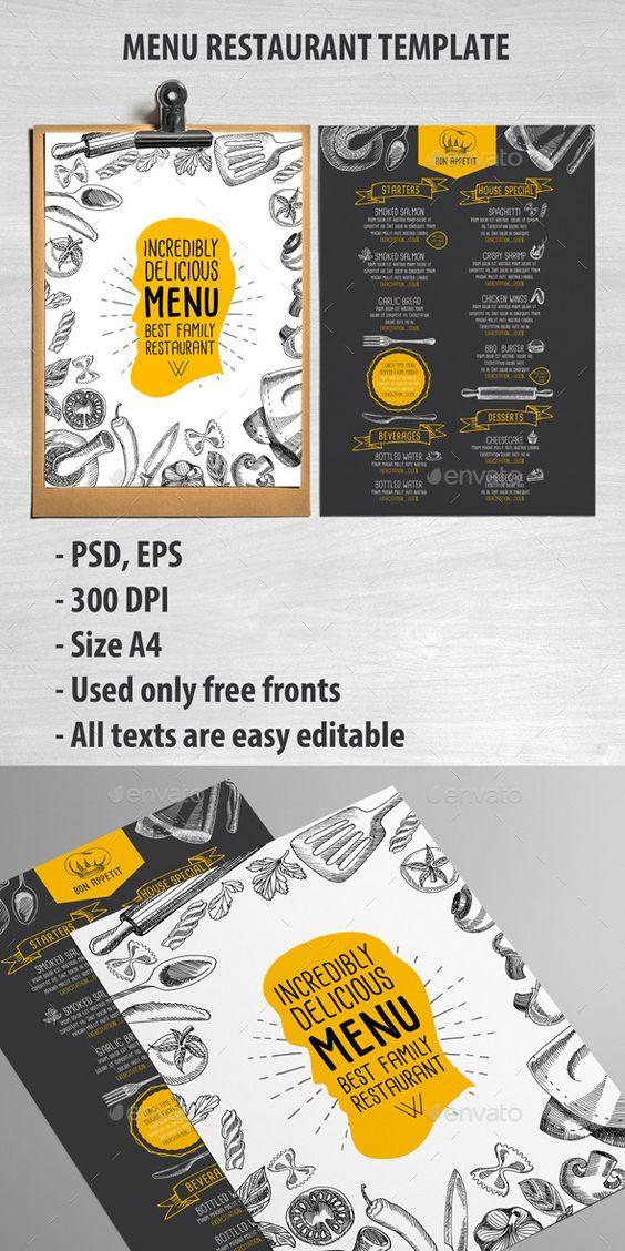 Cafe and Restaurant Template #design Download: http://graphicriver.net/item/cafe-and-restaurant-template/11896013?ref=ksioks