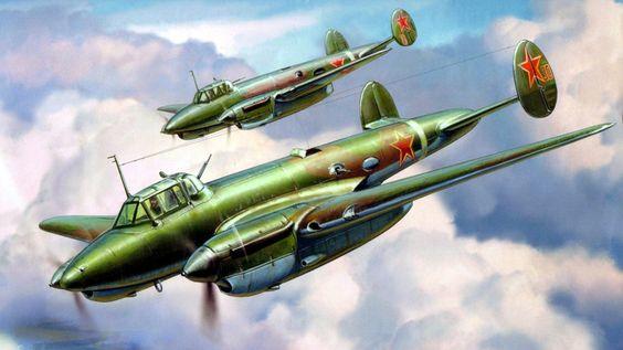 1943 Petlyakov Pe-2 - Andrey Zhirnov