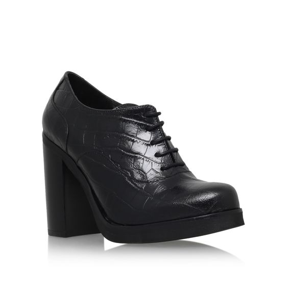 alfred black high heel lace up shoes from Carvela Kurt Geiger ...