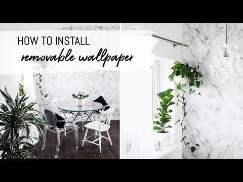 To Learn How Wallpaper Hanging Differs For Our Self Adhesive Wallpaper And Traditional Non Woven Wal Diy Wallpaper Removable Wallpaper How To Install Wallpaper