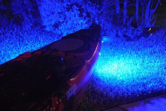 Supernova kayak fishing lights look like fun for flounder for Kayak lights for night fishing