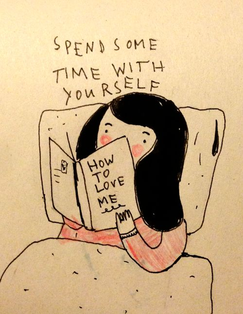 Today: Reading in bed by Saskia Keultjes / more love on my new facebook page:
