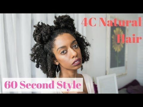 Double Buns 60 Second Easy Natural 4c Hairstyles For Short Medium Length Natural Hair Youtube With Images Natural Hair Styles Girly Hairstyles Medium Hair Styles