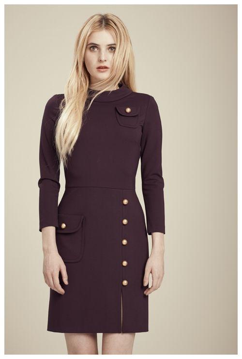 Francis Fall 2012 - Faye 3/4 sleeve knit dress