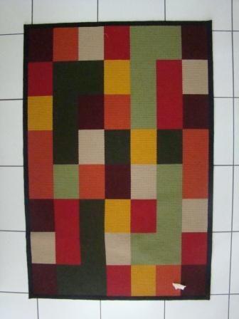 arraiolo geometric rug