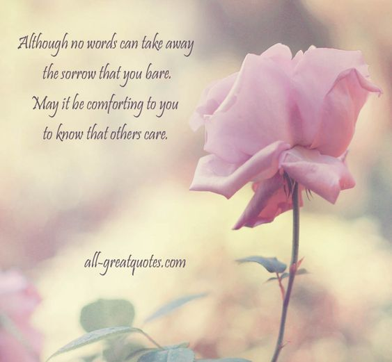 Religious Sympathy Quotes For Loss Of Mother: Sympathy Quotes For Loss Of