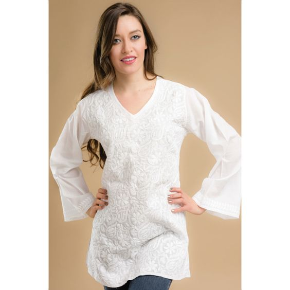 rishika embroidered tunic