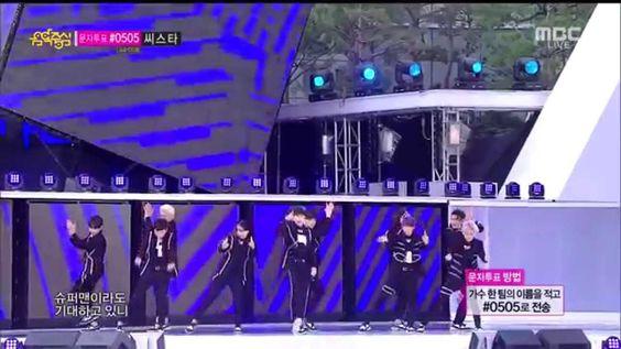 [Live HD 720p] 140906 Super Junior - MAMACITA @ Music Core