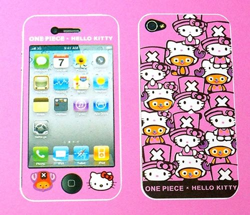 iPhone 4 / 4S Hello Kitty Vinyl 2-in-1 Stickers / Protective Film - Front & Back - $6.87