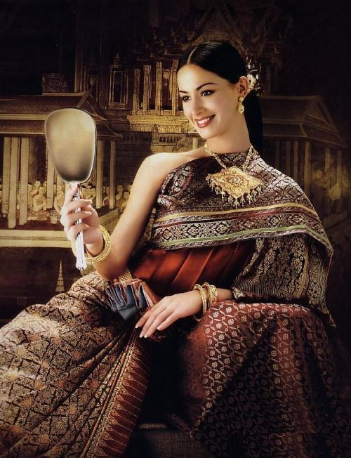 Pleats were part of traditional Thai dress
