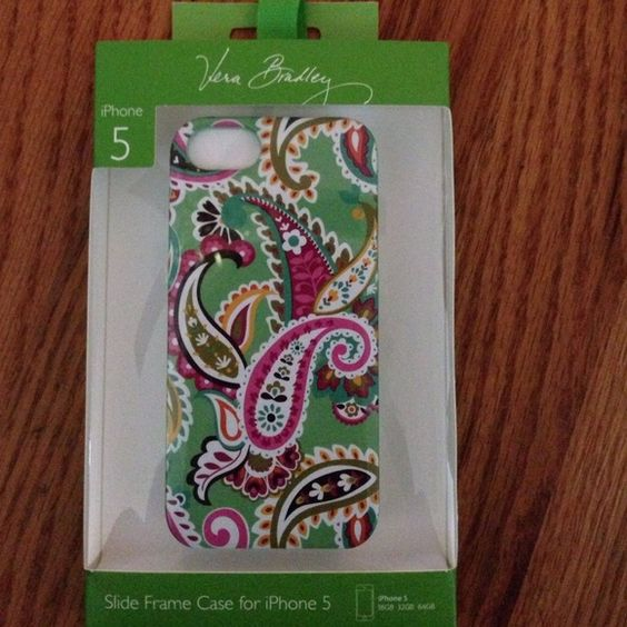NWT Vera Bradley iPhone 5 case New Vera Bradley iPhone 5 case. Slide frame case for iPhone 5. Tutti frutti. Any questions please feel free to ask! I'm willing to negotiate and love to bundle and am now accepting all reasonable offers!!! :) Vera Bradley Other