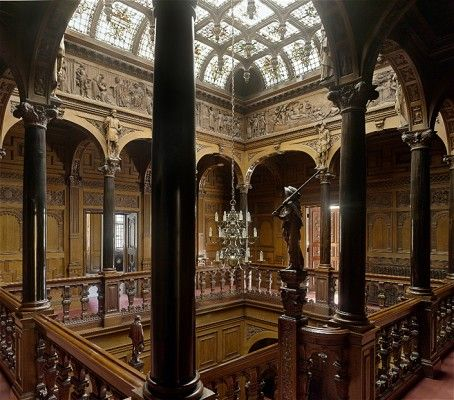Two Temple Place, a neo-gothic mansion built on the Embankment in London in 1895