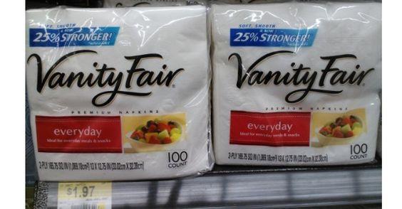 Vanity Fair Napkins Just $1.47 At Walmart!