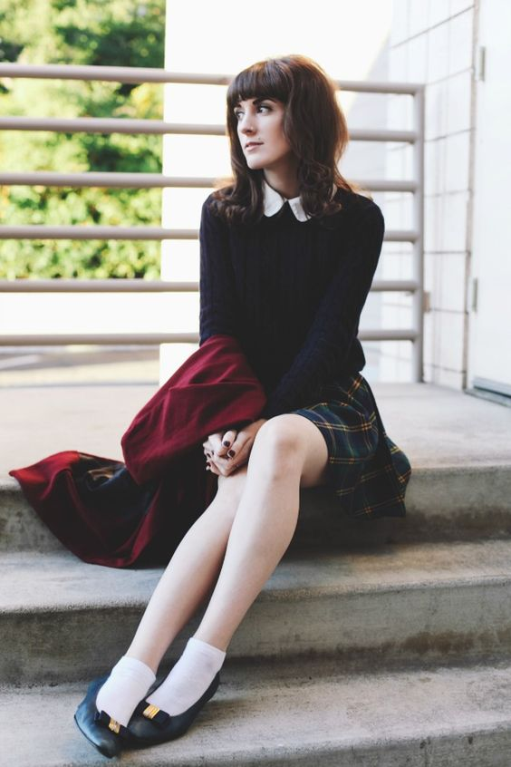 Finch & Fawn : Schoolgirl Plaid | * Autumn/Winter Outfits ...